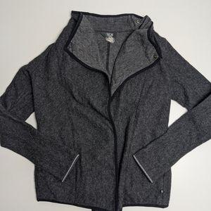Mountain Hardwear Grey Wool Blend Sweater Wrap Small
